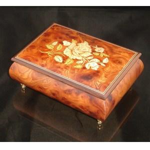 Italian Jewelry Box Dark Elm 2462