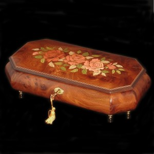 Italian Inlay Jewelry Boxes