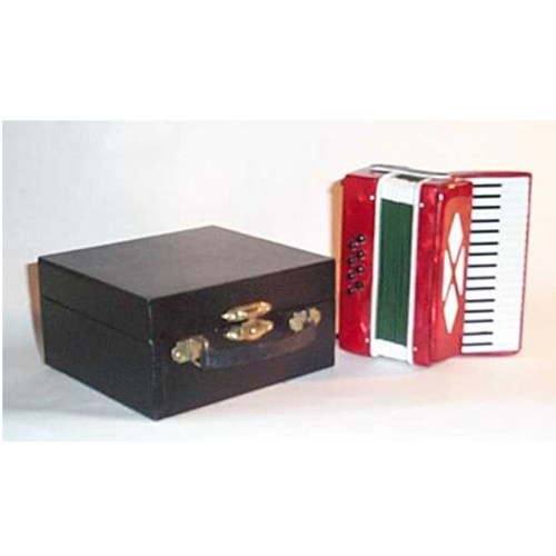 Accordion Miniature with a case