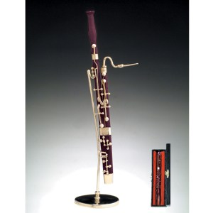 Miniature Bassoon with stand and case CWBS