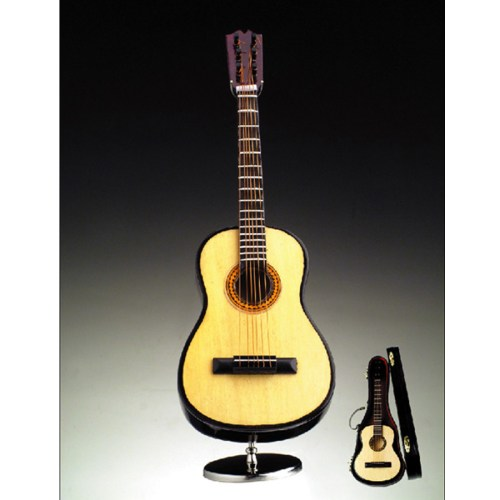Miniature 7 in Fold Guitar with stand and case A7GI-H