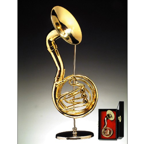 Miniature Sousaphone-Tuba with stand and case