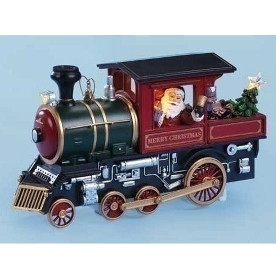 Santa in musical Christmas Train