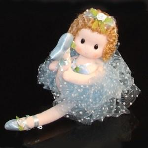 Ballerina doll in blue