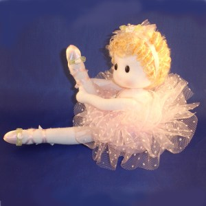 Ballerina doll in pink