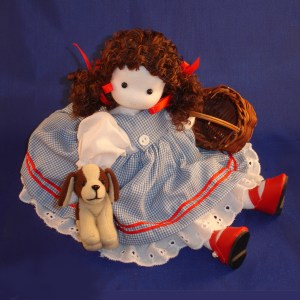 Dorothy from Wizard of Oz musical doll