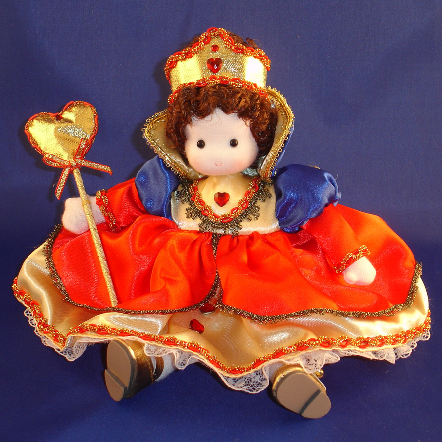 Queen of Hearts musical doll