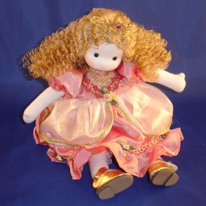 Sleeping Beauty musical doll