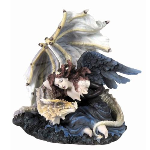 Dark Angel Protected by Dragon