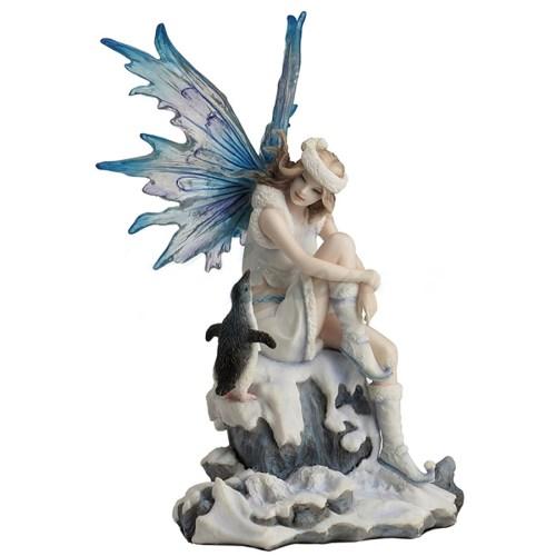 Fairy & Penguin - Whimsical Charmer