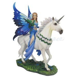 Fairy Unicorn and Dragon - Realms of Enchantment