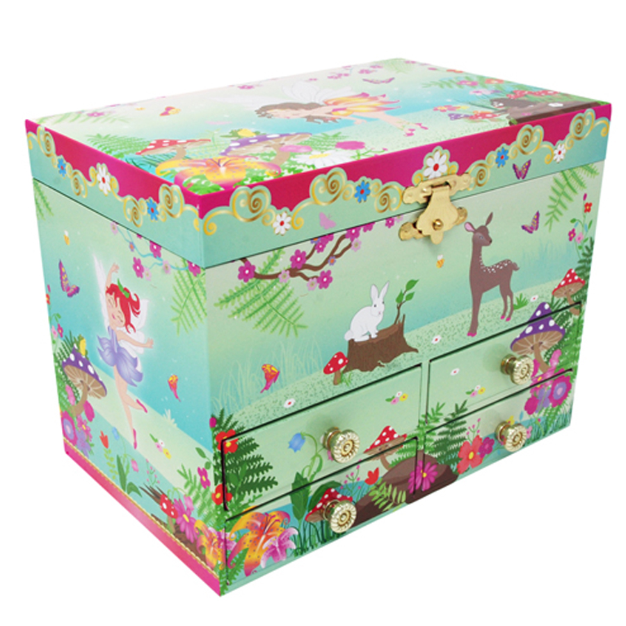 Forest Fairy Medium Jewelry Box front view