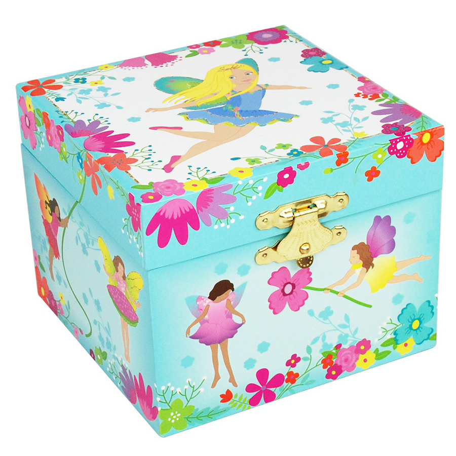 My Fairy Tale Musical Jewelry Box small front view