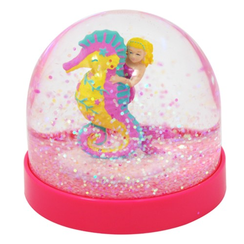 Under the Sea Acrylic Mermaid Seahorse Globe