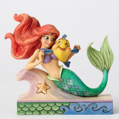 Ariel-&-Flounder-Jim-Shore