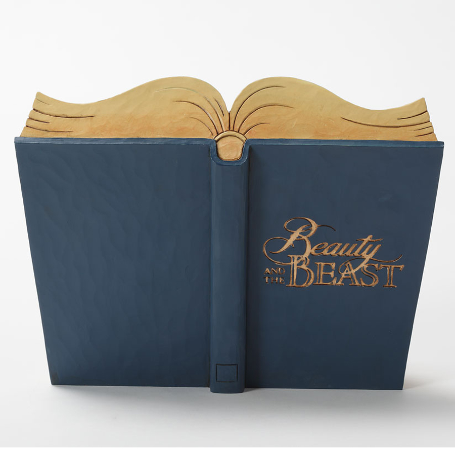 Beauty and the Beast Storybook back view