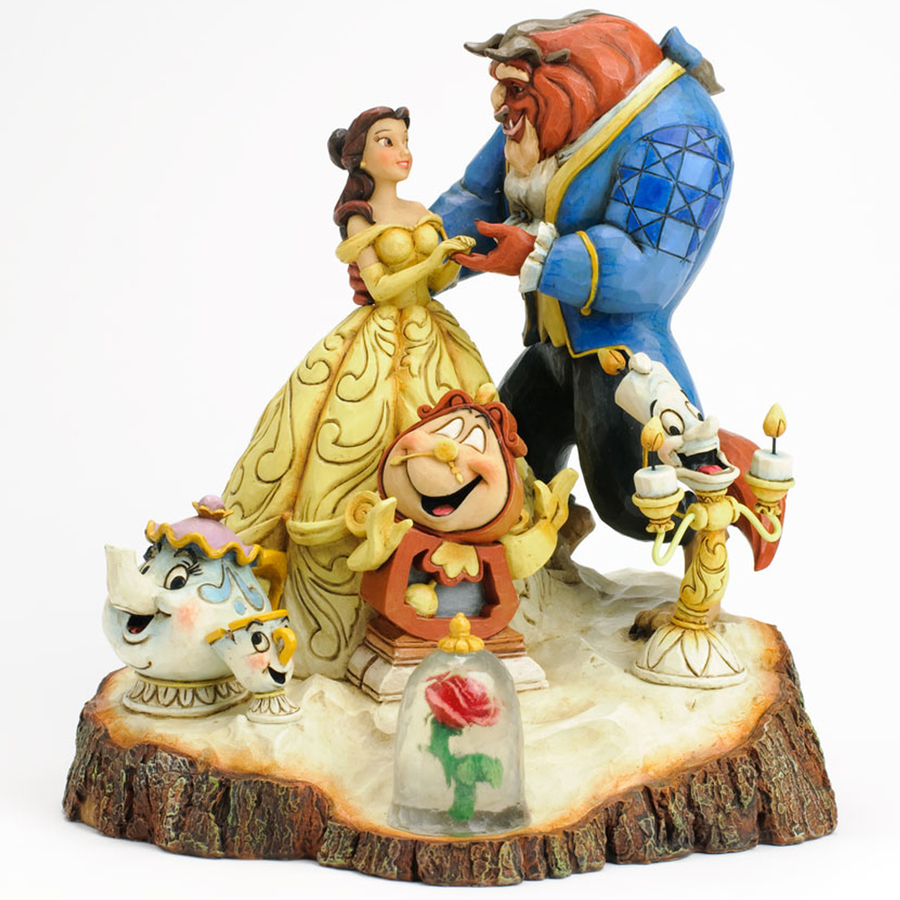 Beauty and the Beast Tale as Old as Time Jim Shore