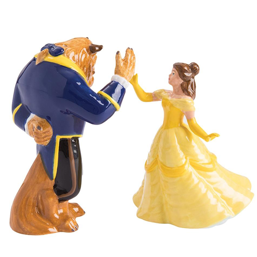 Beauty and the Beast salt and pepper