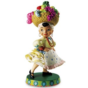 Disney Classics Small World Brazil figurine