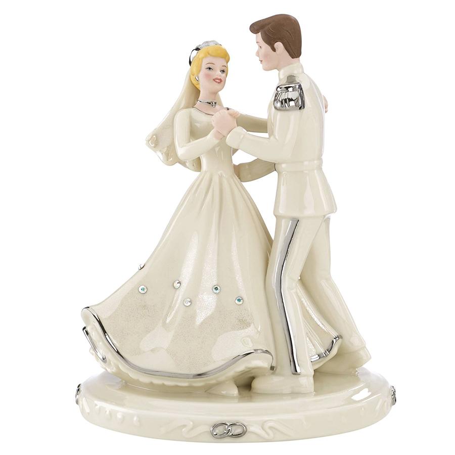 Cinderella-Cake-Topper-Silver-Lenox