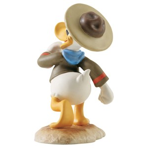 Donald figurine Happy Camper Disney Classics Back View