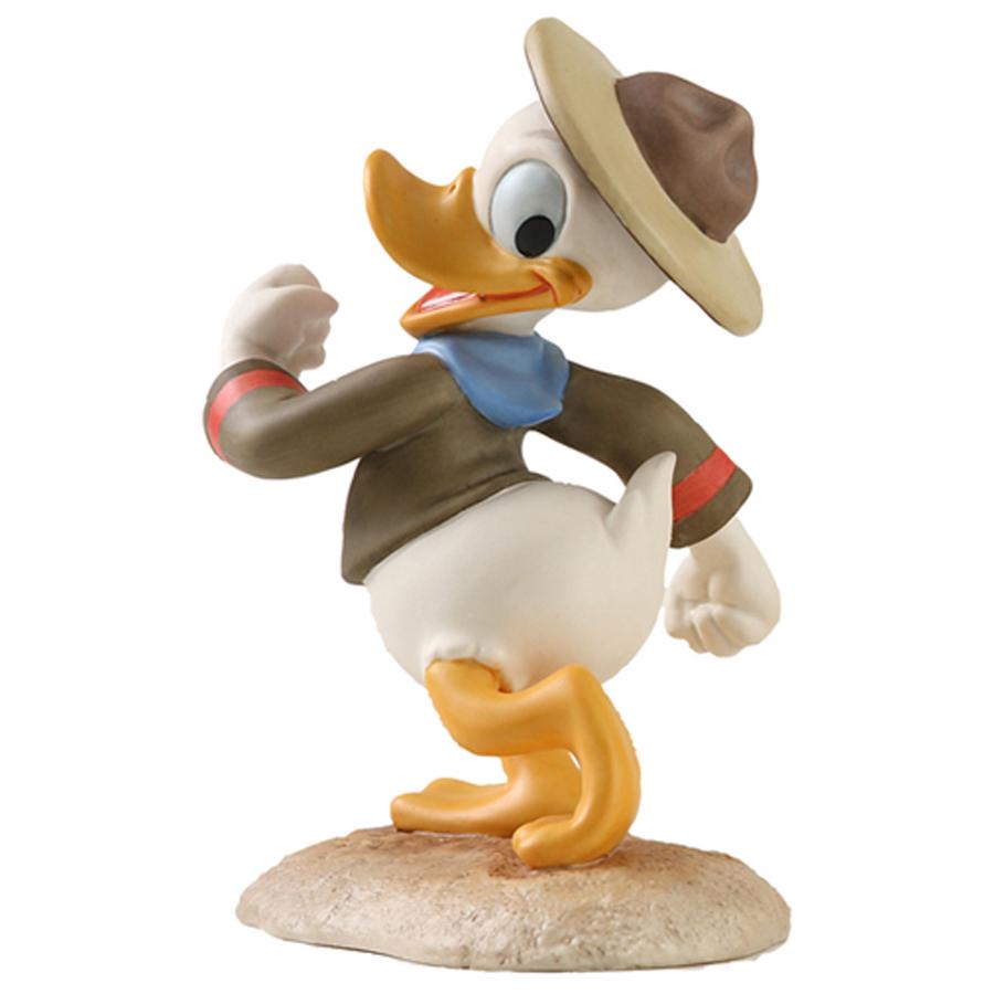 Donald figurine Happy Camper Disney Classics side view