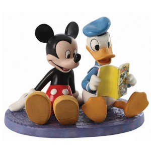 Disney Classics Donald and Mickey figurine Comic Book Companions