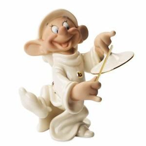 Snow White Dopeys Serenade Lenox figurine