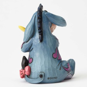 Eeyore with Butterfly Jim Shore back view
