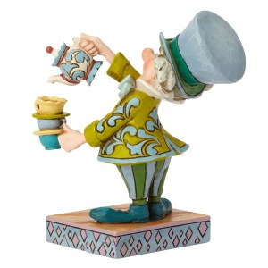 Mad Hatter A Spot of Tea Jim Shore Back View