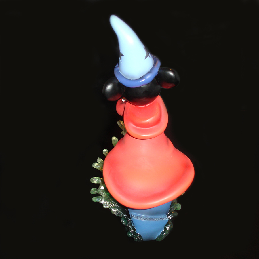 Mickey Sorcerer figurine by Grand Jester back view