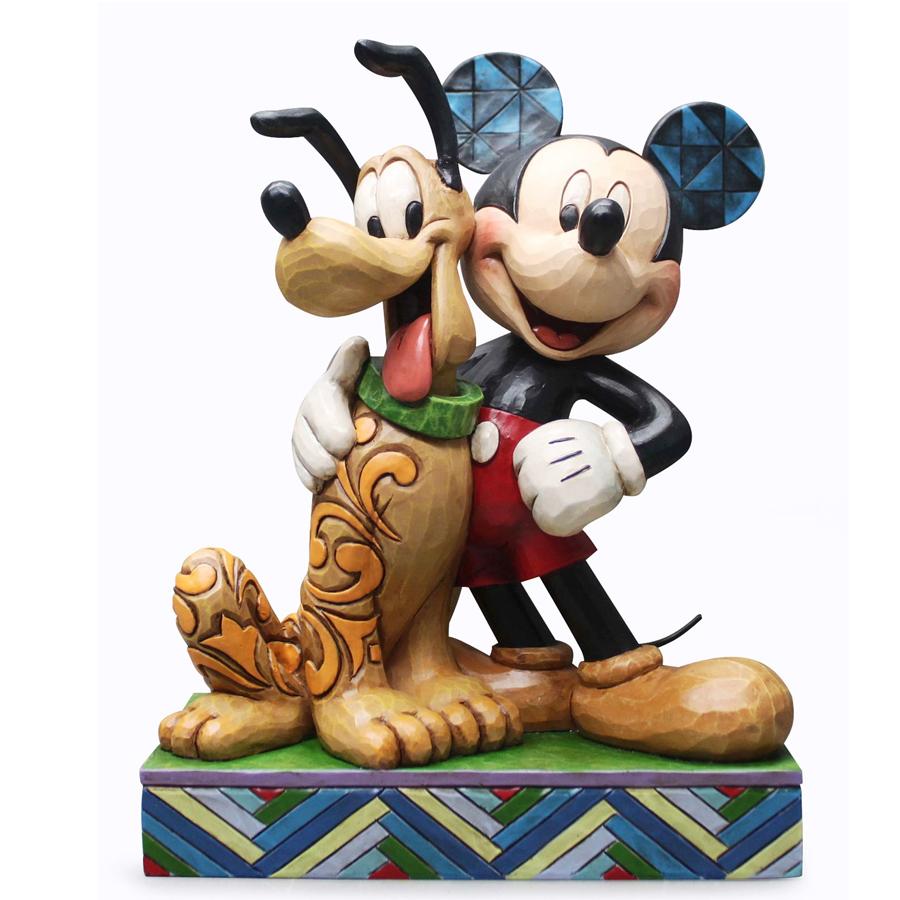 Mickey-and-Pluto-Jim-Shore