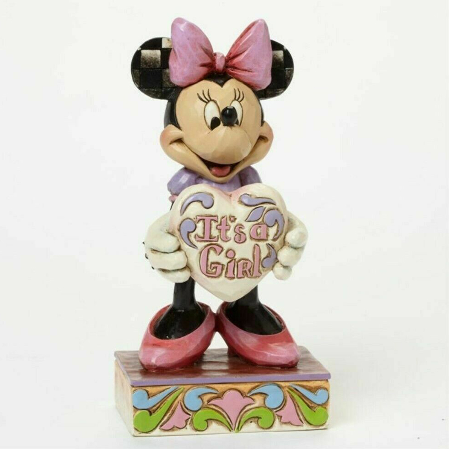 Minnie Mouse It's a Girl figurine by Jim Shore