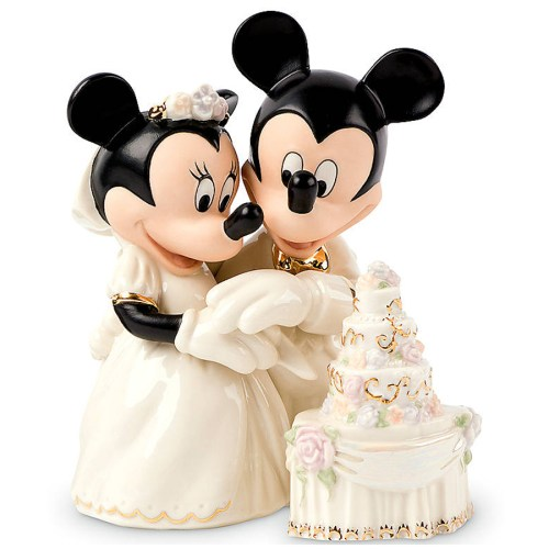 Minnie's Dream Wedding Cake figurine by Lenox