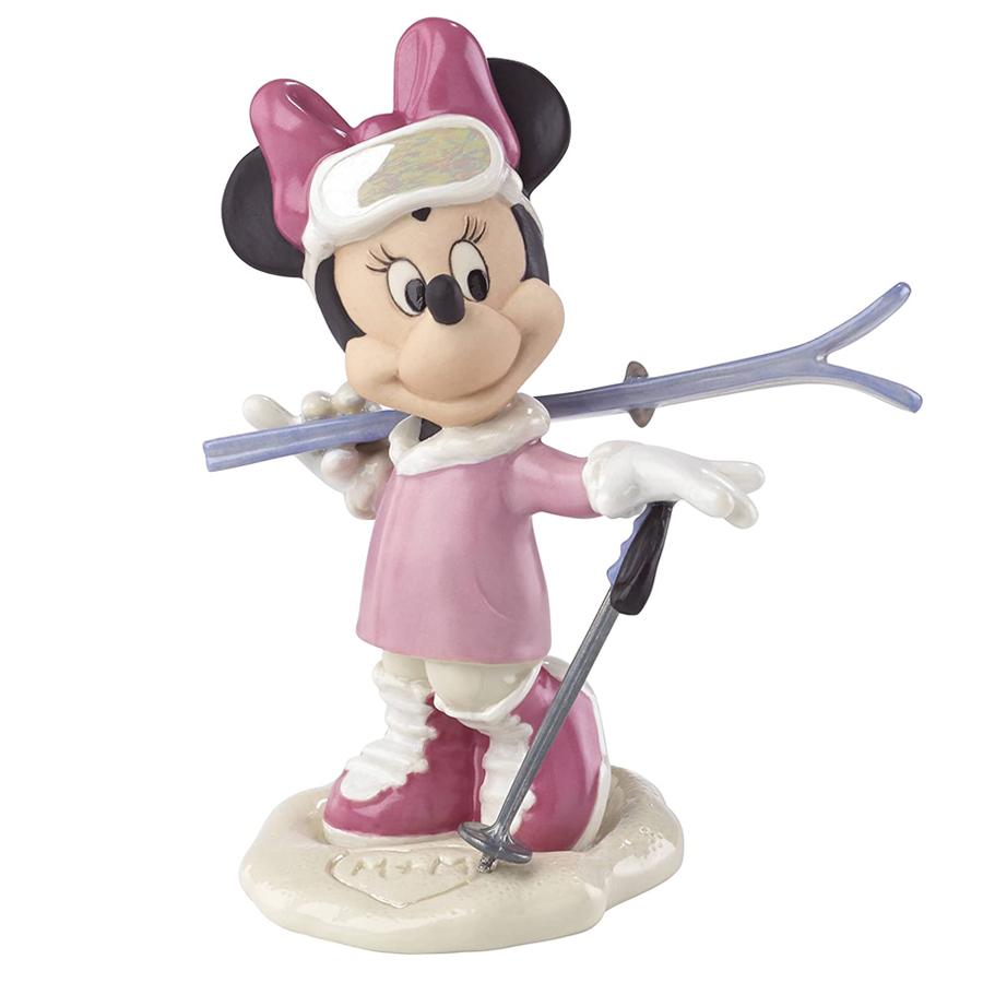 Minnie's Skiing Adventure Lenox figurine