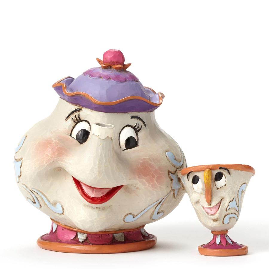 Mrs Potts and Chip JimShore
