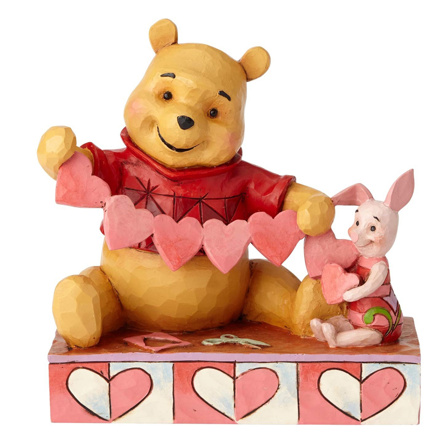 Pooh and Piglet Hearts Jim Shore