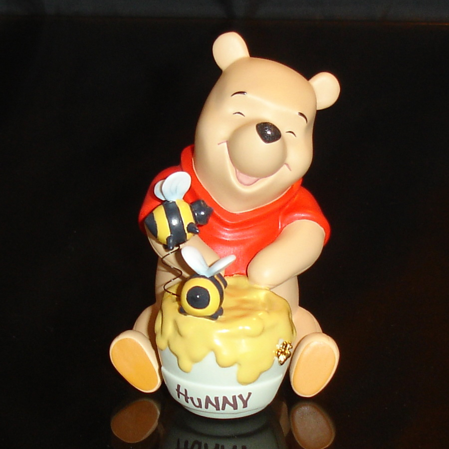 Winnie the Pooh with Bees front view