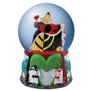Queen of Hearts Water Globe