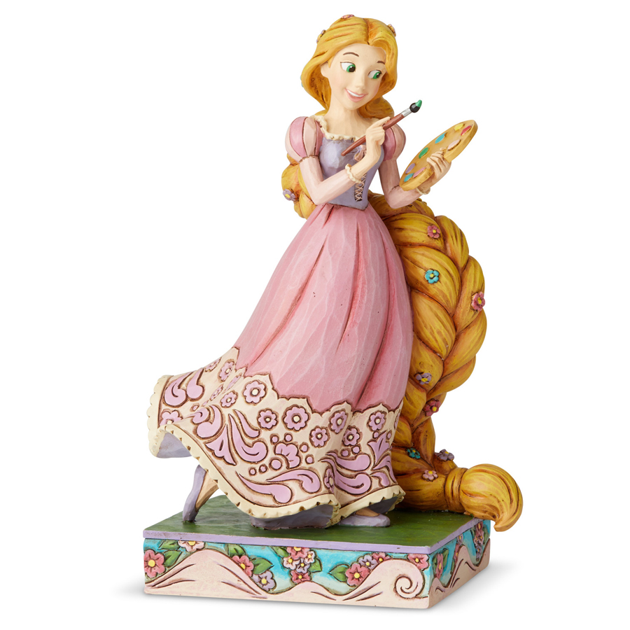 Rapunzel Princess Passion by Jim Shore side-view