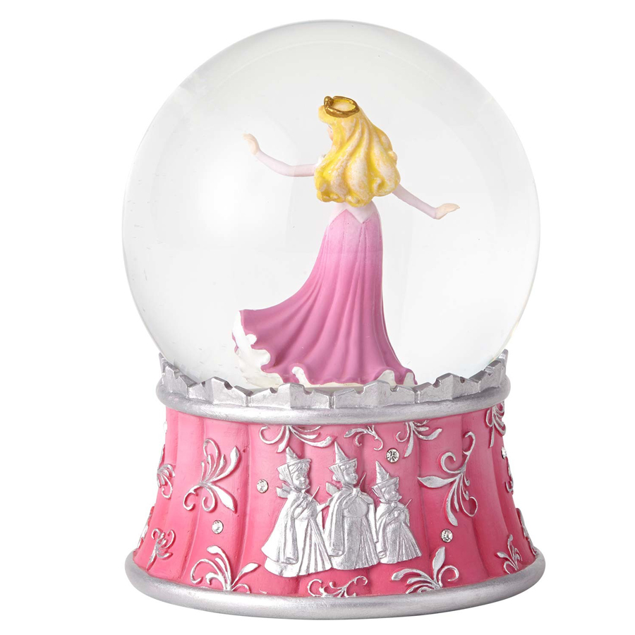 Disney Sleeping Beauty Globe back view