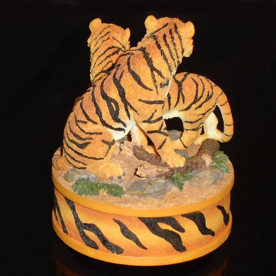 Tigers Music Box back view