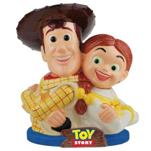 Woody and Jessie Cookie Jar