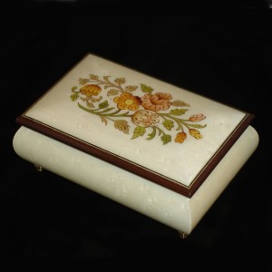 04CF-White-Italian-Musical-Jewelry-Box