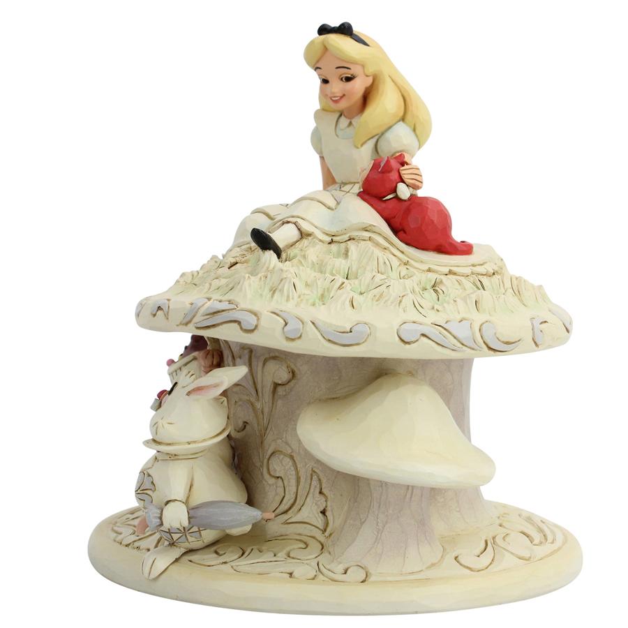 Alice-in-Wonderland-White-Woodland-figurine-side-view