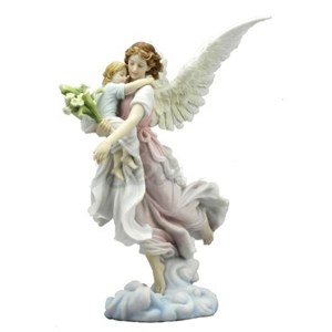 Angel-Holding-Child-figurine