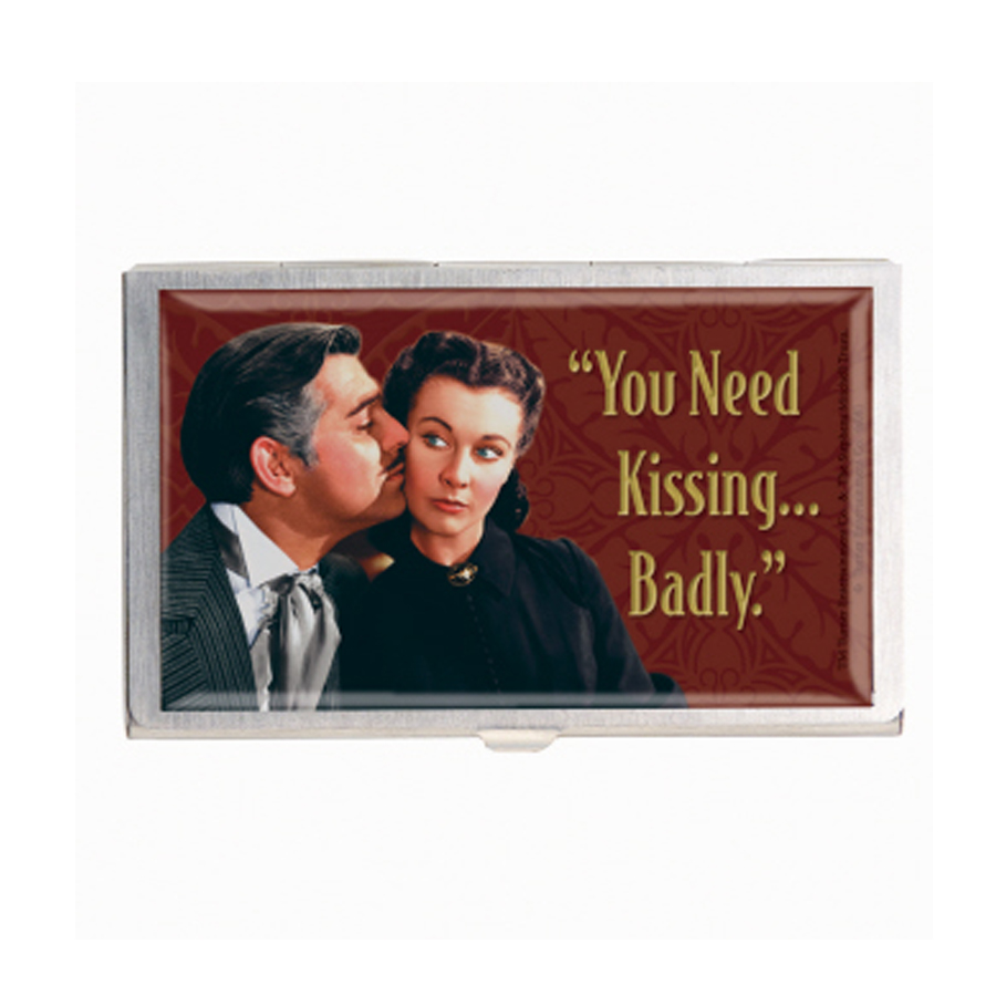 Gone With The Wind metal card case