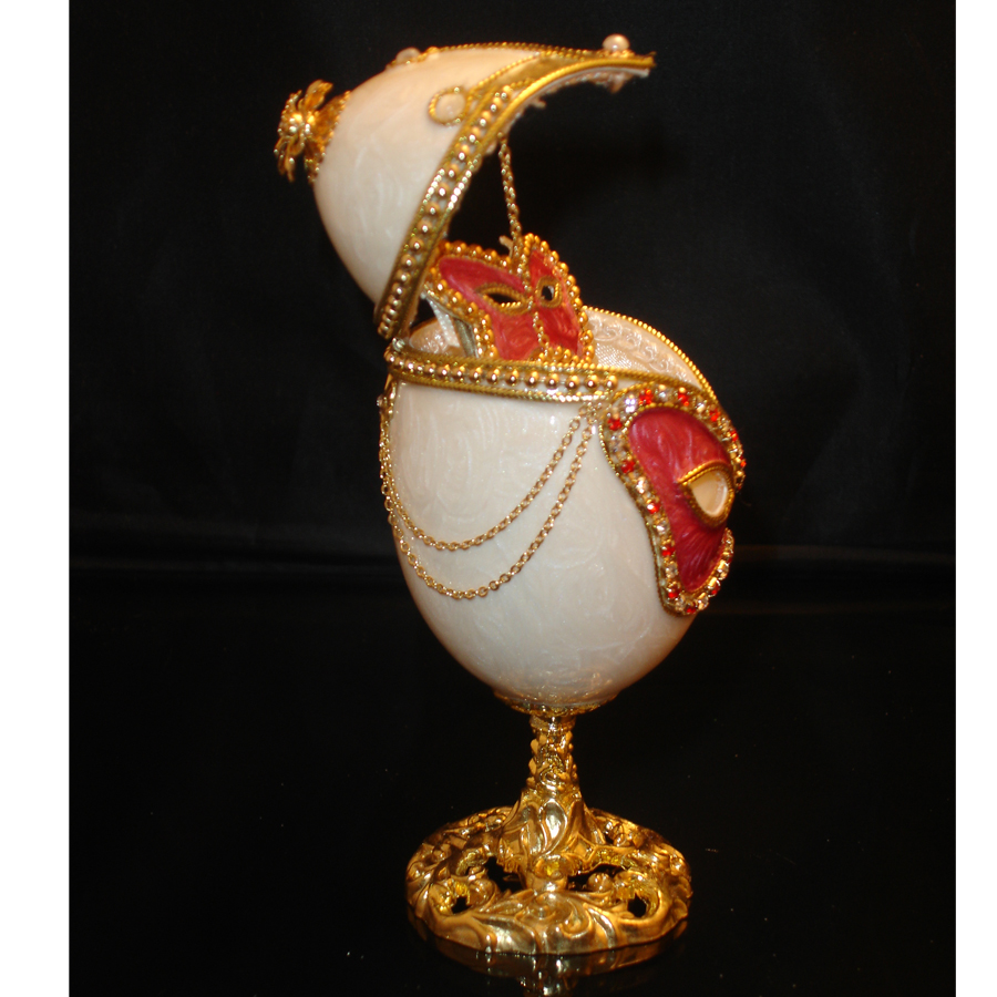 Mystic-Decorated-Goose-Egg-opened-side-view