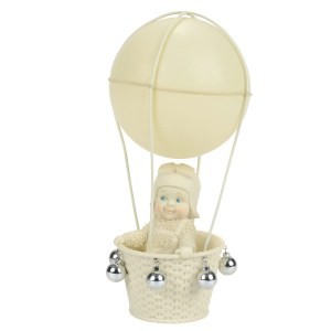 Snow Baby Air Travel figurine