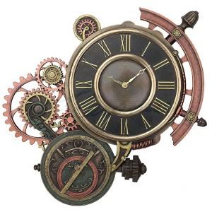 Steampunk-Astrolabe-Clock
